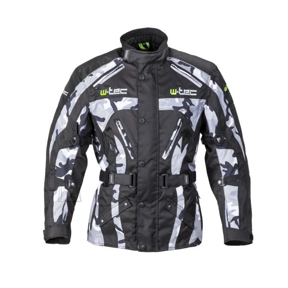 W-Tec Men???s Motorcycle Jacket W-TEC Troopa - Black Camo 3XL