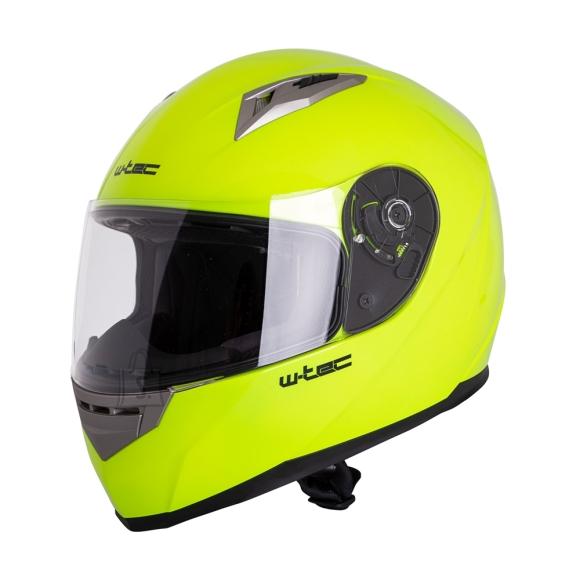 W-Tec Integral Motorcycle Helmet W-TEC V158 - Fluo Yellow L(59-60)