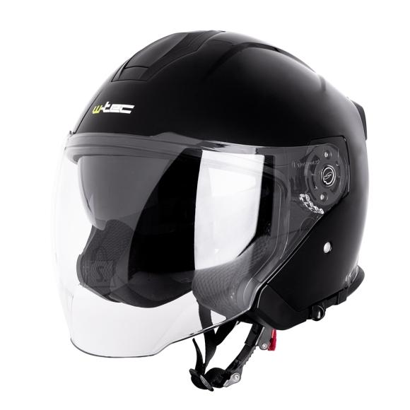 W-Tec Motorcycle Helmet W-TEC V586 NV - Black L(59-60)