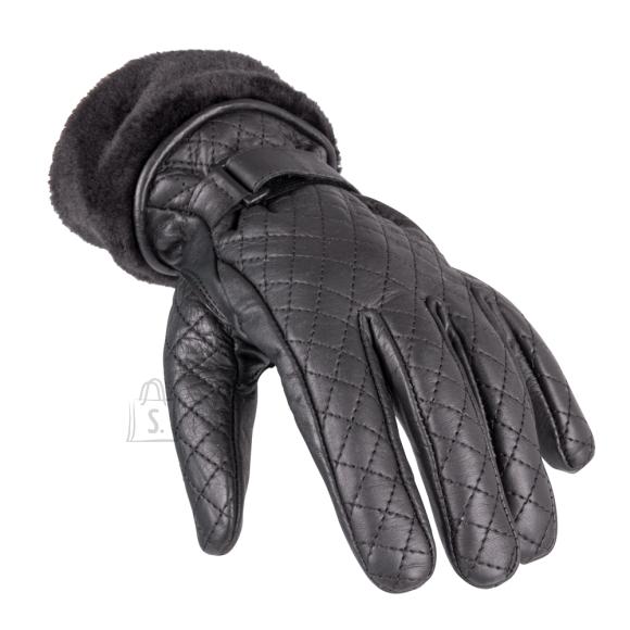 W-Tec Women's Leather Gloves W-TEC Stolfa NF-4205 - Black XL