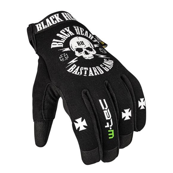 W-Tec Motorcycle Gloves W-TEC Black Heart Radegester - Black 3XL