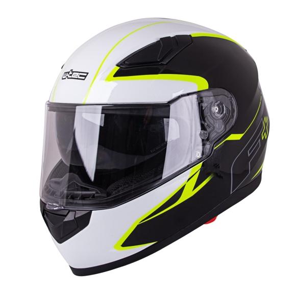 W-Tec Motorcycle Helmet W-TEC FS-816 Black-Fluo Yellow - XXL (63-64)