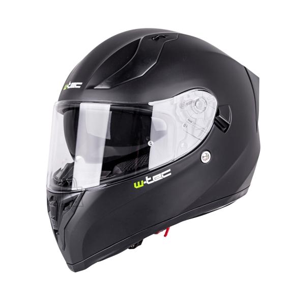 W-Tec Integral Motorcycle Helmet W-TEC Vintegra Solid - Matte Black XS (53-54)