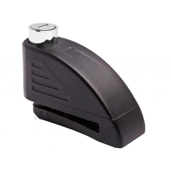 Motorcycle Disc Alarm Lock Tokoz - Black