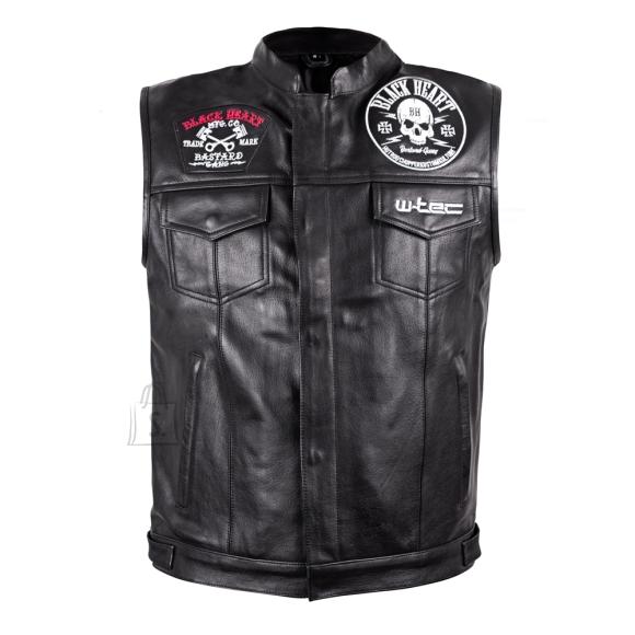 W-Tec Motorcycle Vest W-TEC Rumbler - Black 4XL