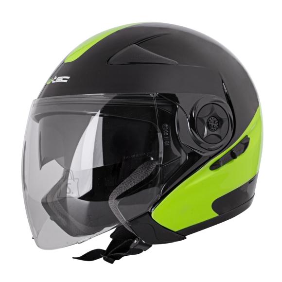 W-Tec Motorcycle Helmet W-TEC Neikko Black-Fluo - XS (53-54)