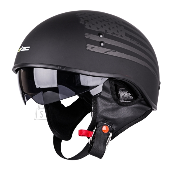 W-Tec Motorcycle Helmet W-TEC V535 US Flag - XS (53-54)