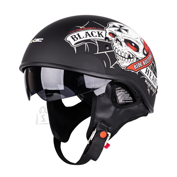 W-Tec Motorcycle Helmet W-TEC V535 Black Heart - M (57-58)