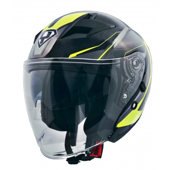 Motorcycle Helmet Yohe 878-1 - Fluo S(55-56)