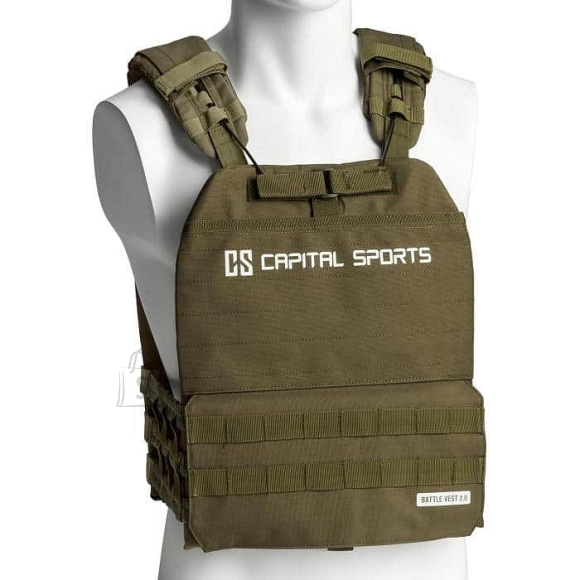 Weighted Vest Capital Sports Battlevest 2.0 2 x 4 kg ??? Green