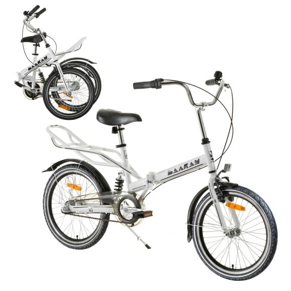 """Reactor Kokkupandav jalgratas Reactor Comfort 20"""" - White"""