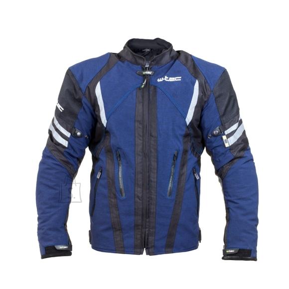 W-Tec Men's Moto Jacket W-TEC Briesau NF-2112 - Blue-Black 5XL