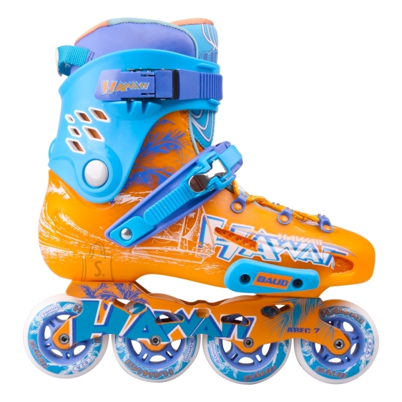 Inline Skates Baud BD276 - Blue-Orange 42