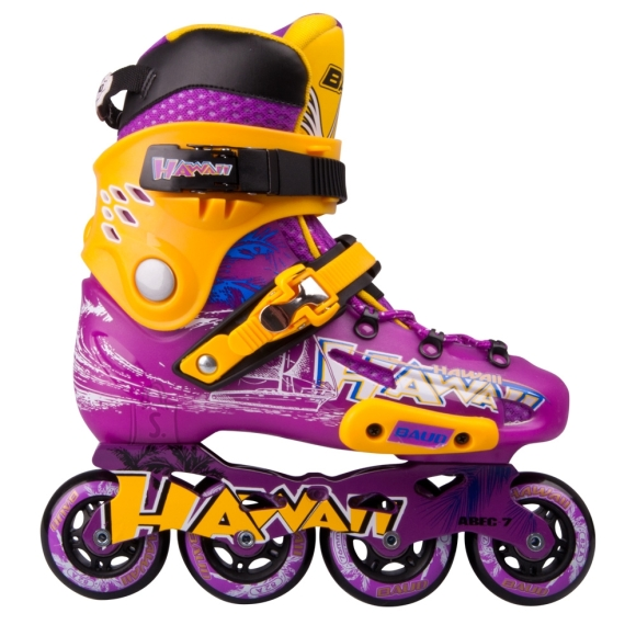Inline Skates Baud BD276 - Violet-Yellow 37