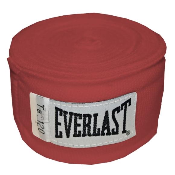 Everlast Boxing Hand Wraps Everlast Pro Style 300cm - Red