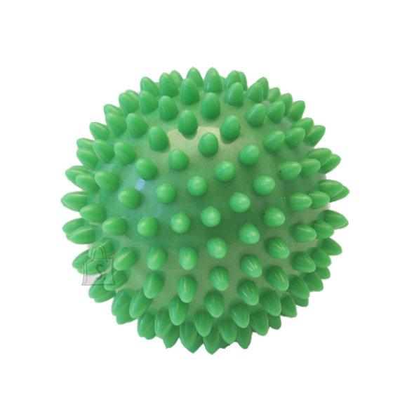 Massage Ball Yate Spiky, 7 cm - Green