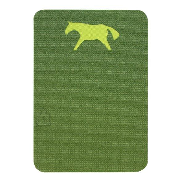 Sit Mat Yate Horse, 400x285x10 mm - Green/Blue