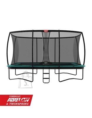 Berg Trampoline BERG Ultim Champion Regular 410 Green + Safety Net DLX XL