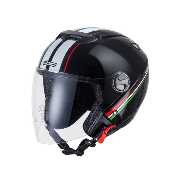 W-Tec Motorcycle Helmet W-TEC YM-617 - Corsa Black XS (53-54)