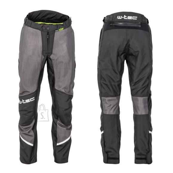 W-Tec Men???s Summer Motorcycle Pants W-TEC Alquizar - Black Grey 5XL