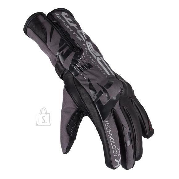 W-Tec Motorcycle Gloves W-TEC Kaltman - Black-Grey M