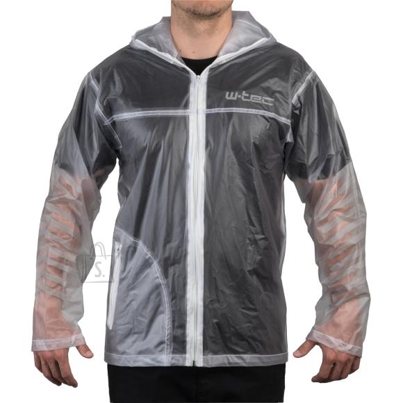 W-Tec Motorcycle Raincoat W-TEC Lighty - Transparent 3XL