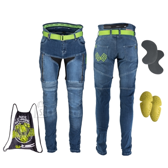 W-Tec Men???s Motorcycle Jeans W-TEC Grandus - Blue 40