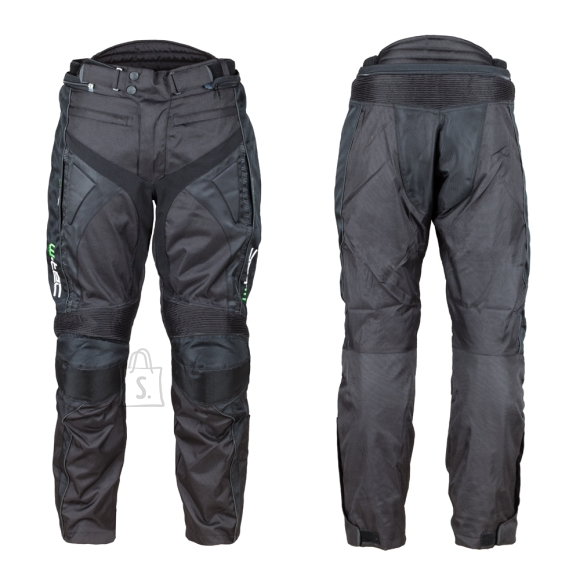 W-Tec Motorcycle Pants W-TEC Anubis NEW - Black 4XL