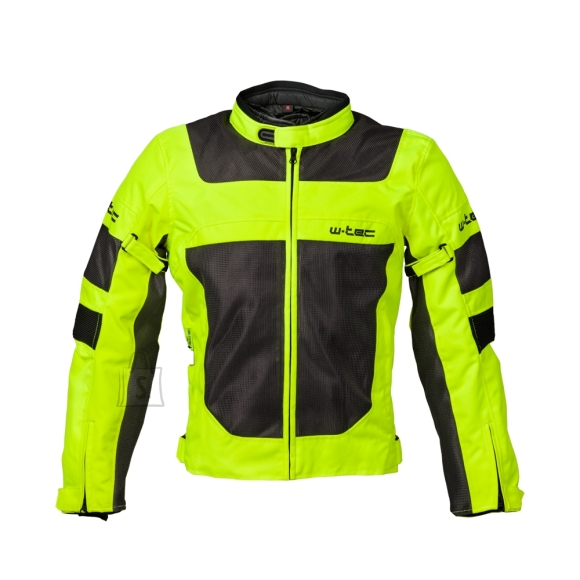 W-Tec Men???s Summer Motorcycle Jacket W-TEC Fonteller - Yellow-Grey XL
