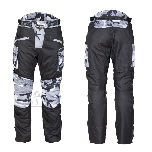 W-Tec Men???s Motorcycle Pants W-TEC Kaamuf - Black Camo L