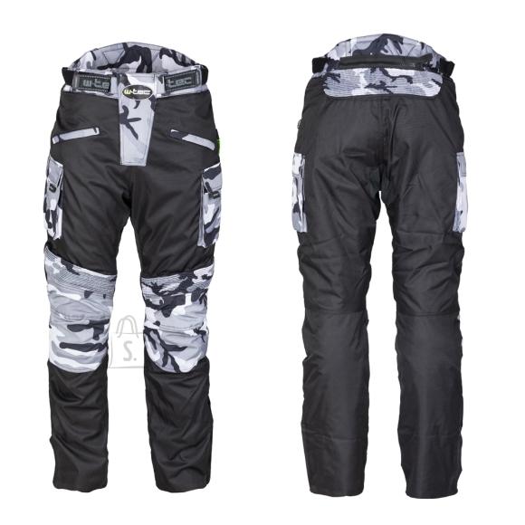 W-Tec Men???s Motorcycle Pants W-TEC Kaamuf - Black Camo 4XL
