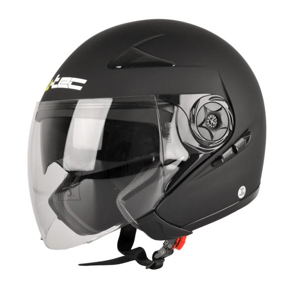 W-Tec Motorcycle Helmet W-TEC Neikko - Matt Black M (57-58)