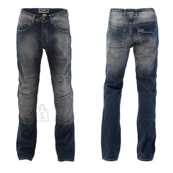 Men???s Moto Jeans PMJ Vegas MID - Blue 34