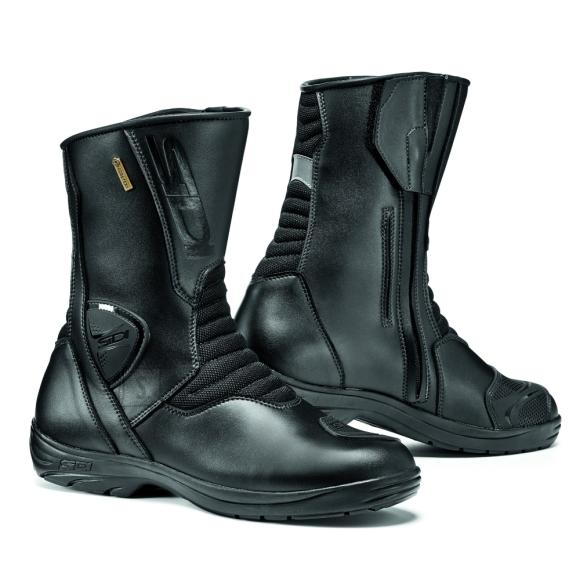Motorcycle Shoes SIDI Gavia Gore - Black/Black 44