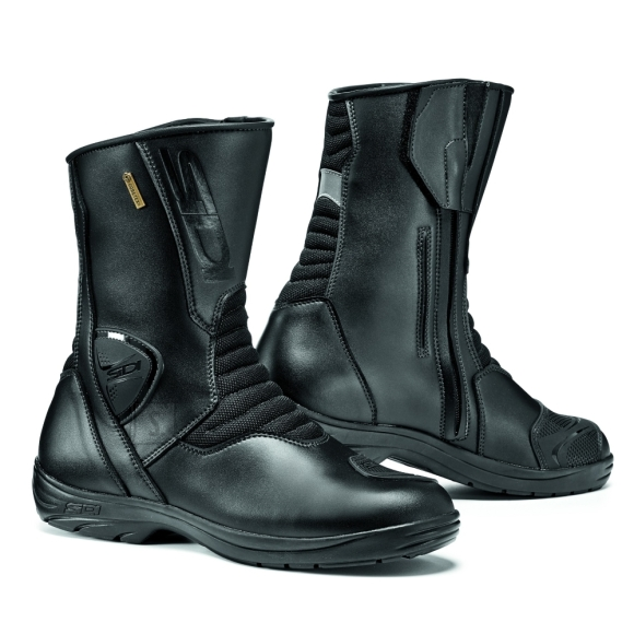 Motorcycle Shoes SIDI Gavia Gore - Black/Black 45