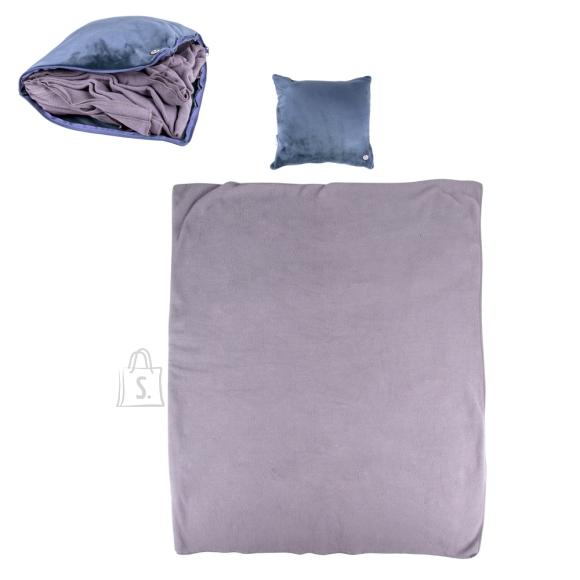 inSPORTline Massage Pillow & Blanket inSPORTline Trawel - Dark blue