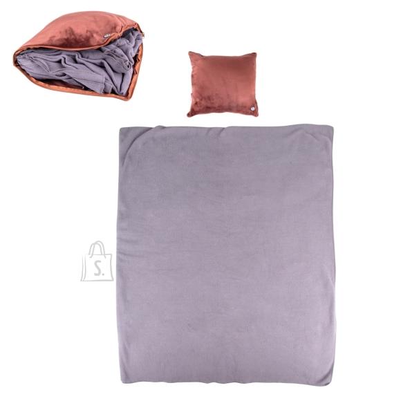 inSPORTline Massage Pillow & Blanket inSPORTline Trawel - Dark Brown