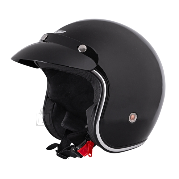 W-Tec Motorcycle Helmet W-TEC YM-629 - Black Glossy S(55-56)