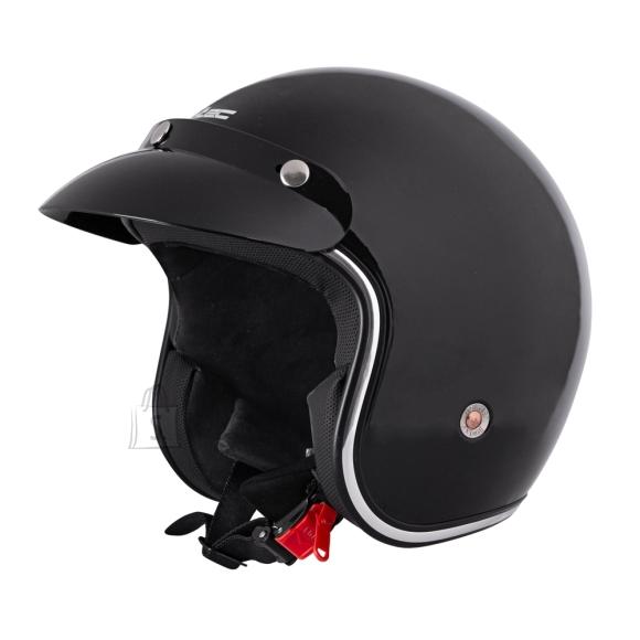 W-Tec Motorcycle Helmet W-TEC YM-629 - Black Glossy M (57-58)