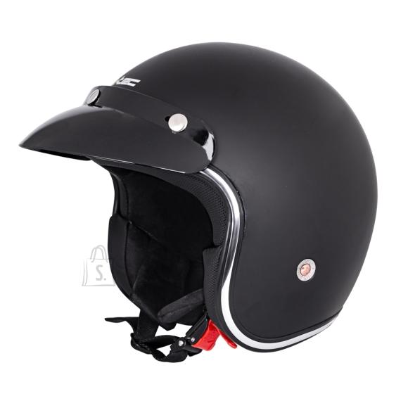 W-Tec Motorcycle Helmet W-TEC YM-629 - Matte Black S(55-56)