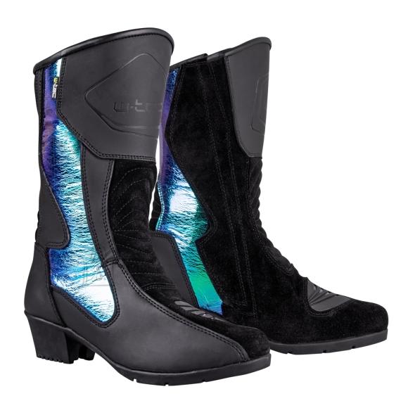 W-Tec Women???s Motorcycle Boots W-TEC Sceneria - Black 40