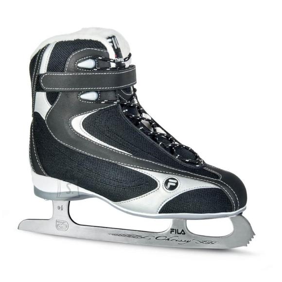 Fila Women???s Figure Skating Skates FILA Chrissy LX Black-Silver - 37