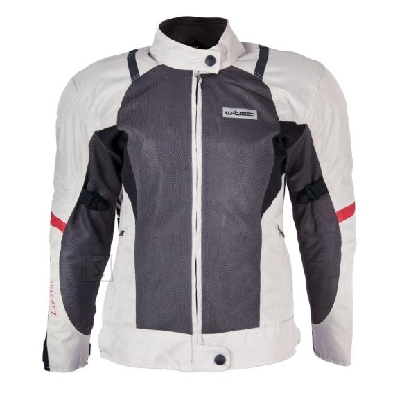 W-Tec Women???s Moto Jacket W-TEC Lucina - Black-White 3XL