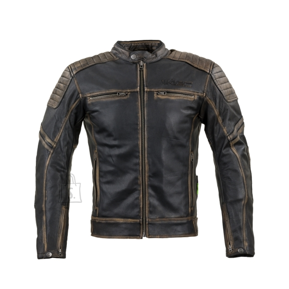 W-Tec Leather Motorcycle Jacket W-TEC Mungelli - Vintage Brown 4XL