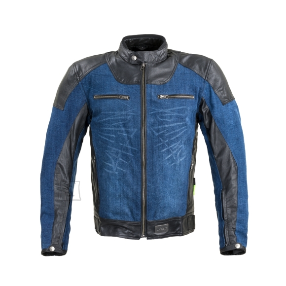 W-Tec Motorcycle Jacket W-TEC Kareko - Blue 5XL
