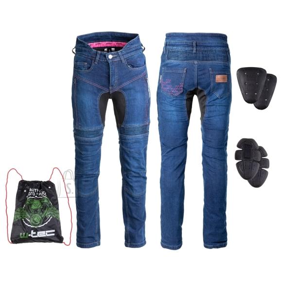 W-Tec Women???s Motorcycle Jeans W-TEC Biterillo Lady - Blue XL