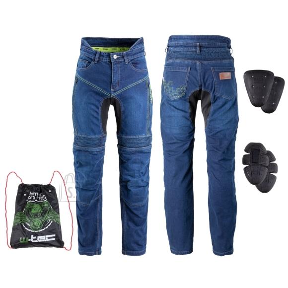 W-Tec Men???s Motorcycle Jeans W-TEC Biterillo - Blue XXL