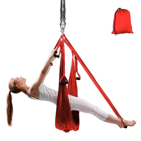 inSPORTline Antigravity Aero Yoga Hammock inSPORTline Hemmok - Red