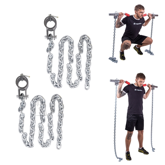 inSPORTline Weight Lifting Chains inSPORTline Chainbos 2x5kg