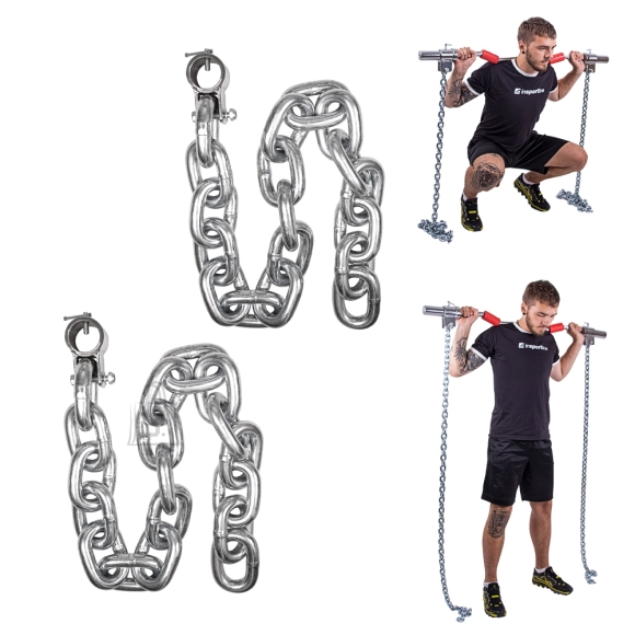 inSPORTline Weight Lifting Chains inSPORTline Chainbos 2x25kg